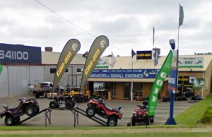 Midwest Mowers & Can-Am store front